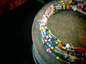FUN Magnetic Clasp with Seed Beads